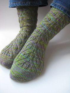 Amazing socks in Posh Yarn