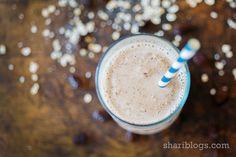 Oatmeal Raisin Cookie Milkshake