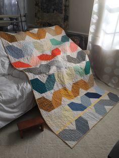 Made with Carolyn Friedlander's fabrics