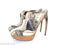 ALEXANDER-McQUEEN-S-S-2010-PLATO-S-ATLANTIS-SLIP-ON-HEELS-SHOES-UK-5-US-8-IT-38 Shoes Uk, Shoes Heels, Uk 5, Atlantis, Unique Fashion, Alexander Mcqueen, Peep Toe, Slip On, Best Deals