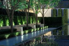 Chengdu Dowell · Yin Yangtze River by JTL Studio – mooool Commercial Landscape Design, Commercial Landscaping, Modern Landscaping, Backyard Landscaping, Landscape Architecture Design, Architecture Plan, Tropical House Design, Backyard Garden Design, Landscape Lighting