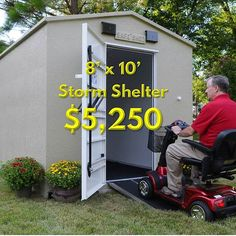 Safe Sheds tornado shelter prices are affordable for every family. Our shelters are proven to save lives in the most severe weather conditions. Survival Shelter, Wilderness Survival, Survival Prepping, Emergency Preparedness, Survival Skills, Tornado Preparedness, Survival Hacks, Survival Life, Survival Food