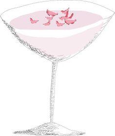 Rose Martini Recipe w Gin