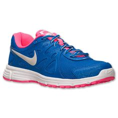 Women's Nike Revolution 2 Running Shoes | Finish Line | Hyper Cobalt/Metallic/Hyper Pink