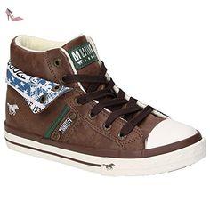 1146507, Sneakers Hautes Femme, Gris (22 Hell Grau), 41 EUMustang