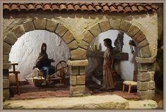 Diorama, Nativity, Painting, Blog, Diy, World, Nativity Scenes, Monuments, Pastor