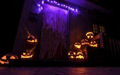 HALLOWEEN HOUSES | halloween house decoration ideas jack o lanterns pumpkins