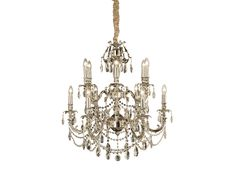 Versailles Kristallkrona Silver Versailles, Chandelier, Ceiling Lights, Lighting, Silver, Home Decor, Candelabra, Decoration Home, Light Fixtures