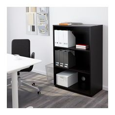 GALANT Shelf unit - black-brown - IKEA