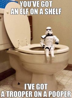 Star Wars - The Is The 501st Version Of Elf On The Shelf