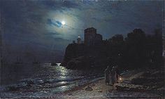 moonlight paintings by famous artists - Google Search
