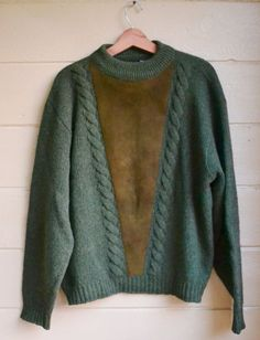 Vintage 1950's Men's Rugby Brand Wool Sweater by founditinatlanta, $80.00