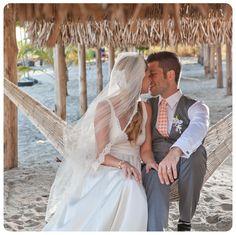 Lauren + Michael's Romantic Paradise Beach Wedding in Panama Stackable Diamond Rings, Rose Gold Pink, Panama, Wedding Bands, Paradise, Jewelry Design, Romantic, Jewellery, Wedding Dresses