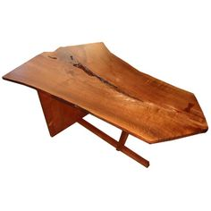 George Nakashima   love his designs    using the grain to its fullest       Sandy left us enough wood to try George's vision