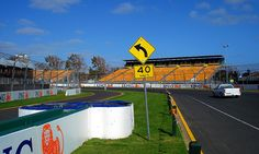 Albert Park, Melbourne, Victoria, Australia    Albert Park prior to the 2007 ING Australian Grand Prix
