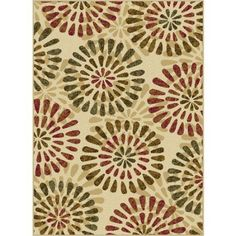 Bliss Rugs Sofie Contemporary Area Rug, White