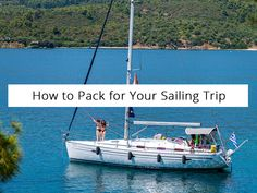 These are a few essential tips on how to pack for your sailing trip. Check out how to get organized to make the sailing journey memorable.   #sailing #yachts #halkidiki #thessaloniki #sail #travel #summer #babasails #holidays