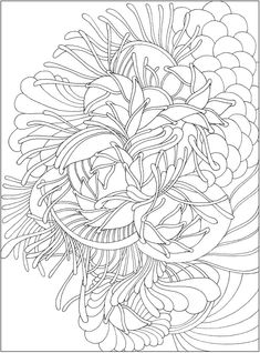 CH Tranquility Colouring Book - Welcome to Dover Publications Love Coloring Pages, Pattern Coloring Pages, Coloring Sheets, Creative Haven Coloring Books, Free Adult Coloring, Dover Publications, Zentangle Patterns, Zentangles, Color Patterns