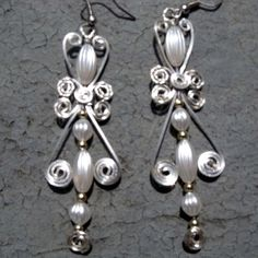Victorian Beaded Earrings