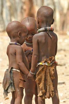 Africa |  Himba children. Namibia | © Dror Yalon