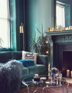 Beautiful hues of blue living room | modern living room
