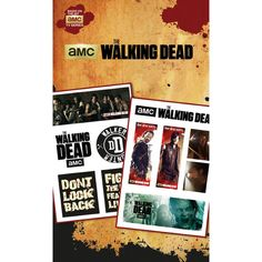 The Walking Dead Mixed Designs offiziell Nue Quality 11x Tattoo Pack: Amazon.de: Bürobedarf & Schreibwaren