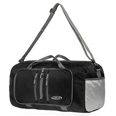 dde78a8d0907 G4Free Foldable Travel Duffle Bag Lightweight 22 Inch for Luggage
