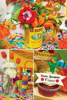 Bright & Festive Fiesta Birthday Party // Hostess with the Mostess® Fiesta Party Favors, Mexican Fiesta Birthday Party, Fiesta Party Decorations, Fiestas Party, Kid Party Favors, Mexican Party, Baby Boy 1st Birthday, 40th Birthday Parties, 16th Birthday