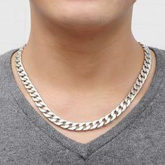 Neue Marke Coole Männer Halskette Legierung Silber Schmuck Vintage Gliederkette Genuine Feste legierung Dicke Kette Großhandel männer Schmuck