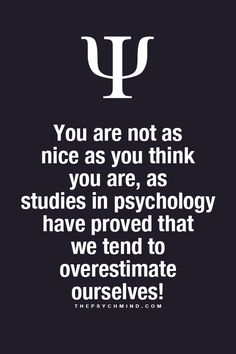 I agree! I know quite a few people that overly overestimate themselves.... I tend to underestimate myself. haha :P