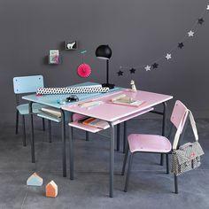Cadeira estilo escola, vintage, buton La Redoute Interieurs   La Redoute