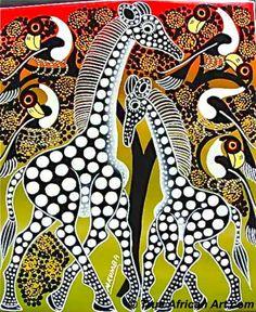 tinga tinga giraffes