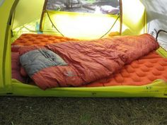 How to sleep better in the backcountry.