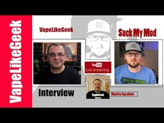 LIVE with Suck My Mod (Matt ) Συνέντευξη - {{ VAPELIVE SHOW }} Interview with Suck My Mod (Matt ) - VAPELIVE SHOW Συνέντευξη To καναλι του Suck My Mod https://www.youtube.com/user/SuckMyMod https://www.youtube.com/channel/UCYZydu5qYUuDP_vnCK_kHtQ ----------------------------------------------------------------------------------------------- Οποιος θελει να παρει το mix shot συνταγη μου Strawmurder πληροφοριες εδω http://ift.tt/2hbpEnk…