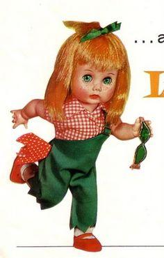 Lil imp Vogue Doll we have her put away.   Vintage ❤