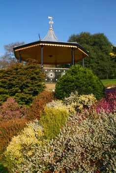 Truro, Bandstands, Flowers, Heather, Historic Buildings, Leisure, Parks