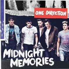 The cover art for Midnight Memories!