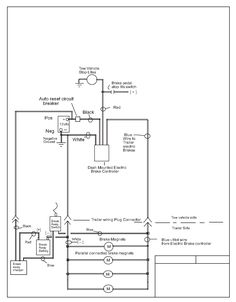 Trailer wiring diagram 7 wire circuit truck to trailer trailers electric brake control wiring cheapraybanclubmaster