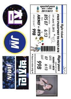 Pop Stickers, Tumblr Stickers, Printable Stickers, Bts Tickets, Kpop Diy, Bts Polaroid, Aesthetic Phone Case, Journal Stickers, Diy Phone Case