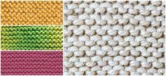 How To Knit a Garter Stitch