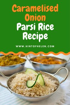 Make delicious caremlised onion rice, Parsi style, in your rice cooker. How to make parsi rice at home: 1. Measure our your ingredients and dice the onion.