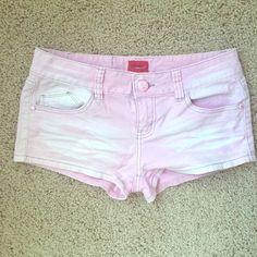 Pink shorts Pink shorts, size small. Shorts Jean Shorts