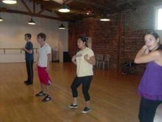 Baby glee cast rehearsing