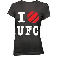 UFC Womens Performance Heart T-Shirt. worth $24.95? lol