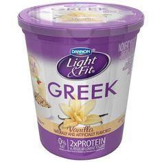Nice Dannon Light And Fit Greek Yogurt | Dannon Light U0026 Fit Greek Vanilla Nonfat  Yogurt,