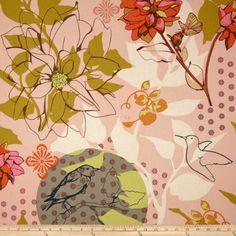 Anna Maria Horner Hand Drawn Garden Sketchbook Pink Fabric Free Spirit http://www.amazon.com/dp/B00DYBLCOA/ref=cm_sw_r_pi_dp_Xp.mvb0M607X1