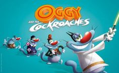 Animated Children film: Oggy and the Cockroaches…