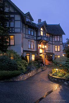 Abigail's Hotel. Victoria, BC, Canada.