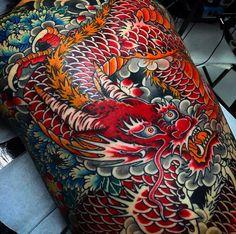 """ถูกใจ 4,741 คน, ความคิดเห็น 16 รายการ - Japanese Ink (@japanese.ink) บน Instagram: """"Japanese back tattoo by @stewart_modernclassic. #japaneseink #japanesetattoo #irezumi #tebori…"""""""