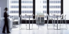 An attractive series of Casual & Lounge Tables designed for lounge and café areas are appropriate for use within corporate or educational settings. Startup Office, Stacking Chairs, Cafe Tables, Square Tables, Lounge Areas, Office Furniture, Interior Design, Home Decor, Work Spaces